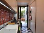 Kitchen - patio access