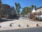 La porte d'Arles à Istres