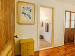 The Sweet Spacious Suite oozes with character & charming details like this wooden bedroom door.