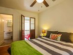 Both bedrooms feature queen-sized beds, an ensuite bathroom and their own Charleston piazza!