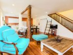 We did mention the amazing amount of space in this loft-like home, didn't we?