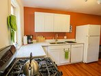 A well equipped kitchen awaits you if you do decide to stay in and cook!