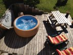 JACUZZY CAN BE AVAILABLE ON REQUEST FOR 550€ THE 6 DAYS
