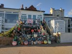 Eclectic, creative, seaside town.