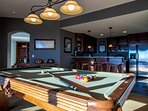 Lower lever game / second living room / wet bar