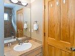 Vanity in second Master bathroom