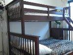 Bedroom 2 ( 1 double bed + 1 single)