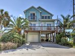 Retreat to this 3-bedroom, 2.5 bathroom vacation rental home in Galveston for a relaxing seaside holiday.
