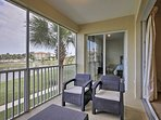 Sit on the balcony and enjoy fantastic views.