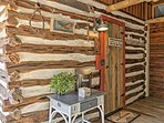Gruene Cabin welcomes you with charming decor and southern accents!