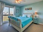 For restful slumbers, retreat to 'Mermaid Dream' room.