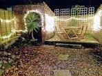 Garden fairy lights