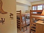 Bedroom 4 has 4 Twin beds