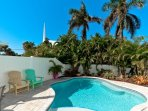 Tropically-Landscaped Pool
