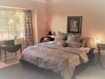 King Size Bed, Large Open Room in a Beautiful Setting