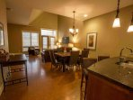 This condo is large, open plan and beautifully decorated