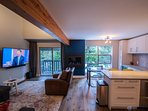 Beautiful Townhome Located in Whistler's Upper Village Surrounded by Pine Trees