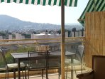 Enjoy nice views from the terrace