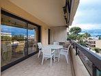 The lovely open terrace