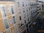 View from the living room and twin room of the Rue d'Antibes
