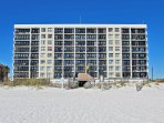 Beach View of the Building