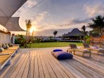 Majapahit Beach Villas - Deck event space