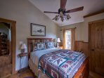 Another view of the guest room at Ashemount in Sugar Grove near  Banner Elk, NC.