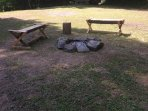 One of two Fire-Pits on the property