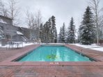 Expedition Station - Year-round heated pool.