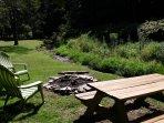 Baird's Creek in Banner Elk, NC. #outdoorfirepit