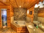 Master Bath with Large Walk In Shower