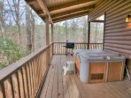 Huge Wraparound Deck with Grill