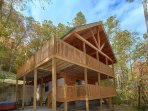Amazing Two Level Two Bedroom View Cabin
