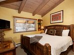 You will love the comfortable king bed and flat screen TV in the master bedroom with en-suite bath