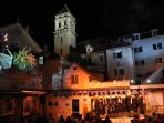 Dalmatian Klapa music  in the old part of town