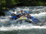 rafting with the Apex agency