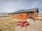 Escape to this rustic 1-bed, 1-bath vacation rental cabin in Tropic, Utah!