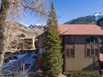 Pinecrest is set in the heart of the box canyon, walking distance to skiing and town.