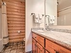 Enjoy freshening up in one of the 2 bathrooms.