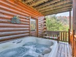 Relax in the 4-person hot tub after an active day of skiing or hiking.