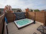 Outdoor Community Hot Tub