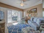 215 Barrington - 2nd floor OCEANFRONT villa in Palmetto Dunes!