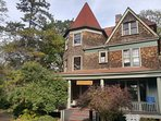 GSG Inn is part of historic NYC Landmark Anson Phelps Stokes estate, totally private and secluded