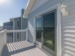 One of many ocean front decks