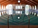 Woodloch indoor pool.  About 4 miles from the home.