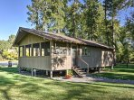 Enjoy peace and quiet when you stay at this 1-bedroom, 1-bathroom vacation rental cabin, situated on Stillwater River!