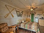 This cozy cabin can sleep 2 people - perfect for couples!