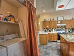 You can outfit repeat with the convenience of the in-unit washer and dryer.