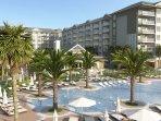 HIlton Pool and Resort Next Door