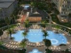 Hilton Pool Next Door